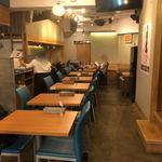 明神カフェ - 店内①
