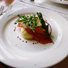 ナオ - 料理写真:前菜 洋梨と柿と生ハム