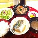 尊 - ミックス定食900円