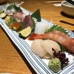旬魚菜よし田 - 刺身盛り