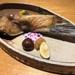 旬魚菜よし田 - まぐろチョッキ焼き