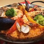 イタリア厨房 KUNISHIMA - イタリア風海鮮パエリア
