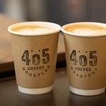 405 コーヒーロースターズ - 200g以上豆をお買い上げでラテもサービス!