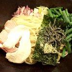 つけ麺 山崎 - 昆布水つけ麺(2019.10)