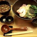 つけ麺 山崎 - 昆布水つけ麺(醤油)(2019.10)