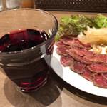 タンドール料理ひつじや - ハウスワイン 250円