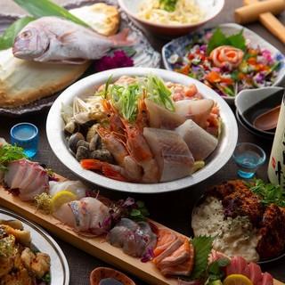 【大人数で宴会】ご宴会に最適な料理とお酒の数々