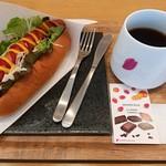 カフェ フォレスタ - ホットドッグセット