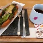 カフェ フォレスタ - ツナタマゴセット