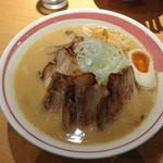 麺家 喜多楽 - 味噌炙りちゃあしゅう麺
