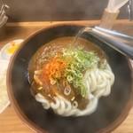 牧のうどん - スープ割り