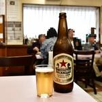 119642820 - 瓶ビール(大)@580円:赤星で。