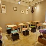 Alberini - 【個室】5〜12名まで。同じフロアにカフェがございます。5名〜 コースのみ貸切可能です。ご相談ください!