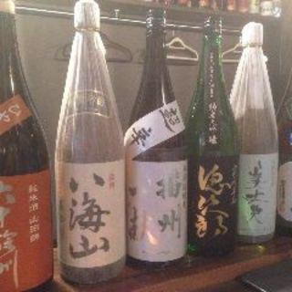 牛タンとの相性を楽しめる厳選日本酒、焼酎をご用意