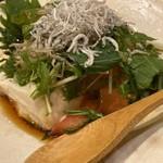 旬美 龍馬 - 豆腐サラダ