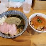 119647898 - マゼニボジャンキー(大盛), レアチャーシュー丼