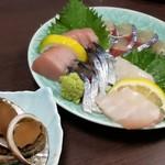 お食事処 樹 - 料理写真:首折れサバのお刺身