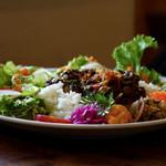 NAP CAFE - カレーとサラダのプレート