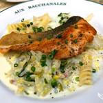オー バカナル - Bランチ(秋鮭のポワレ 白菜のクリーム煮)