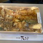 天ぷら 天喜代 - 【盛り合わせ天丼…1,000円】2019/11