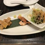 杏梨 チャイニーズキッチン - 前菜3種盛り