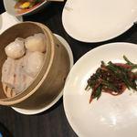 杏梨 チャイニーズキッチン - 海老焼売と青椒肉絲