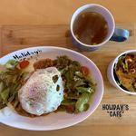 ホリデイズ カフェ - 料理写真:ガパオライス