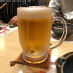 小料理 わさび - 生ビール