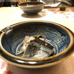 小料理 わさび - つき出しは秋刀魚の山椒煮