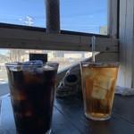 119668241 - アイスコーヒー&アイスティー