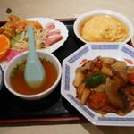 Koushienhanten - 特別定食(¥1,100)