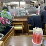 味の三平 - 店内