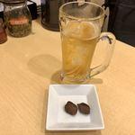 三商巧福 - 話梅が2粒、超甘い乾燥梅干しです