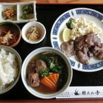 11968367 - 牛タン定食¥1180 牛タンよりソバの存在が大