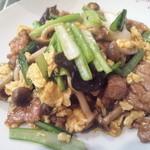 11968932 - ランチの豚肉と野菜の炒め
