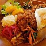 カフェ デルファ - 野菜プレート 1,200円
