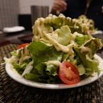 銀座 古川 - もりもりサラダ