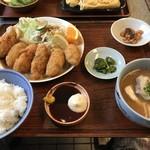 與五郎 - 料理写真:今回も、カキフライ定食1150円(税別)をいただきました(2019.11.14)