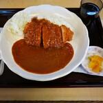 かつふじ - カツカレー(竹) 790円 → 500円