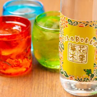 沖縄と言えば…【オリオン生ビール】と【泡盛】で乾杯❗️