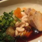 魚真 新宿店 - また食べました。あん肝と白子☆