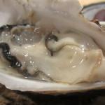 魚真 新宿店 - 鳥羽産の生牡蠣