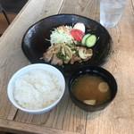みのる食堂 - 豚肉生姜焼き(1890円)