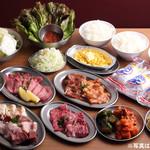 大阪焼肉・ホルモン ふたご - 料理写真:銅メダルコース