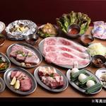 大阪焼肉・ホルモン ふたご - 料理写真:金メダルコース