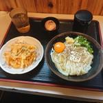 119696429 - 釜バター&かき揚げ(590円)2019年11月