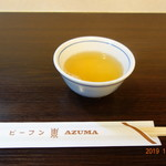 119696903 - まずは、お茶が配膳