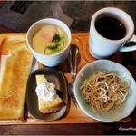 ひょっとこ - モーニング450円(8:00~11:00)