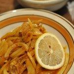 けらら - チキンマサラ(チキン香味炒め)\950-でご飯付き