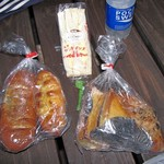 ヒロベーカリー - サンドイッチ、胡桃パンなど